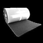AlphaFlex Wave Loodvervanger EPDM 30 cm x 5 meter, grijs
