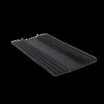 EPDM onderlegrubber tbv alu verb.-bovenprofiel 60 mm x 1000 mm