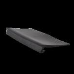 EPDM rubberslab tbv aluminium muurprofiel 52 mm x 1000 mm