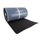 AlphaFlex Wave Loodvervanger EPDM 30 cm x 5 meter, zwart